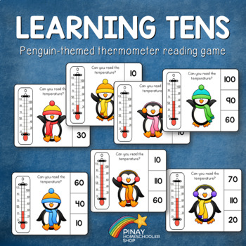 Penguin Thermometer Learning Tens