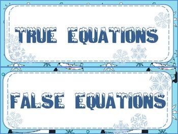 Penguin True-False Equations