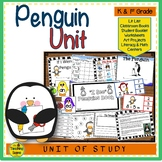 Penguin Unit: Activities & Centers