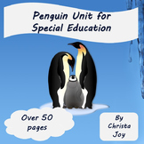 Penguin Unit for Special Education