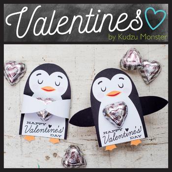 Penguin Valentine Candy Hugger
