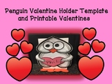 Valentine Holder Template and Printable Valentines Pack