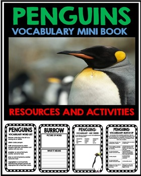 Penguin Unit - Vocabulary Project