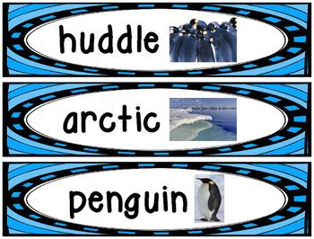 Penguin Vocabulary Cards