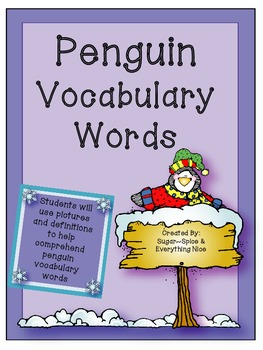 Penguin Vocabulary Interactive Book