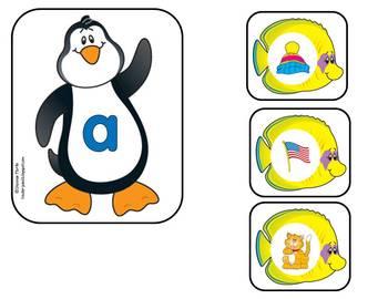 Penguin Vowel Matching Center