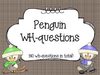 Penguin WH-Questions