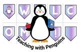 Penguin  Welcome Bunting Purple #AUSBTS18