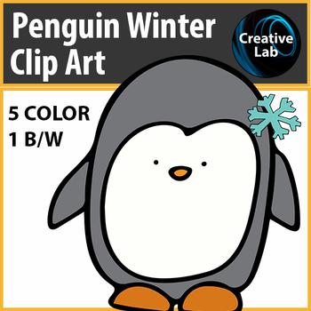 Penguin Winter Clip Art - Feedback Challenge