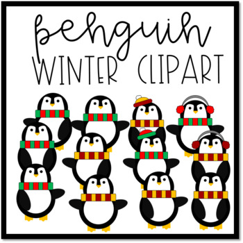 Penguin Winter Clipart