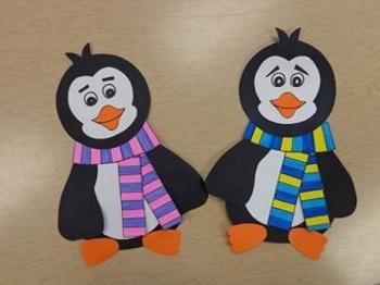 Penguin Winter Craft