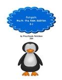 Penguin Winter Math-the-Room FREEBIE!