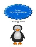 Penguin Winter Math-the-Room FREEBIE!