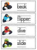 Penguin Word Cards