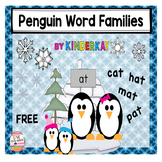 Penguin Word Families CVC and CVCe Sorting Cards and Mats