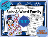 Penguin Word Family FREEBIE