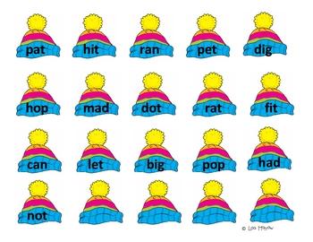 Penguin Word Family Game