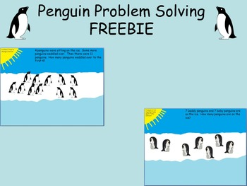 Penguin Word Problems FREEBIE