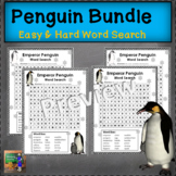 Penguin Word Searches - Easy and Hard