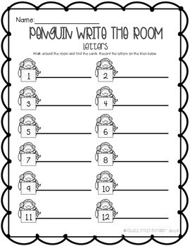 Penguin Write the Room!