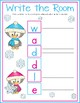 Penguin Write the Room Freebie!