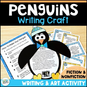 Penguin Writing Craftivity