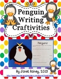 Penguin Research, Report Writing, & Craftivities (Informational Text Included)