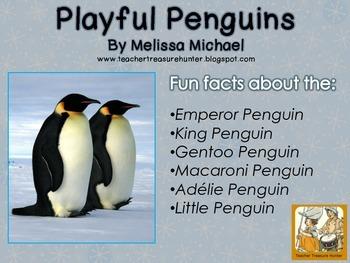 Penguin Writing Freebie (Metric Version) Read & write abou