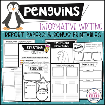 Penguin Informational Writing