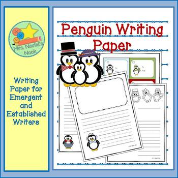 Writing Paper Penguins