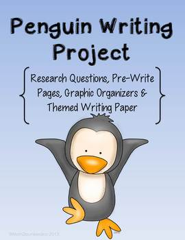 Penguins Nonfiction Research Writing Project
