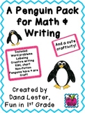 Penguin Writing and Math