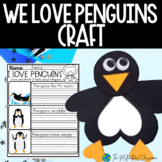 Penguin Writing paper and Art project