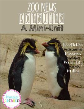 Penguin Zoo News A Mini-Unit