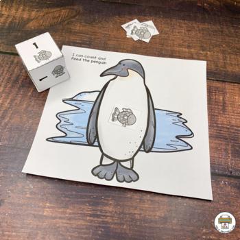 Penguin Activities for Preschool, Pre-K and Tots