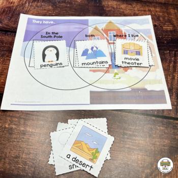 Penguin Preschool Activities and Centers