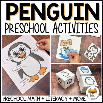 Penguin Themed Preschool Activities and Centers