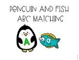 Penguin and Fish ABC Matching Game