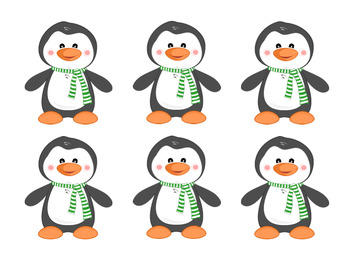 Penguin and Fish ABCs and 123s Matching Activity!