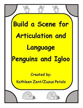Penguin and Igloo Build a Scene