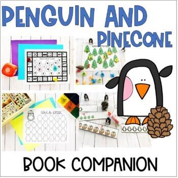 Penguin and Pinecone Book Companion- Preschool Letter P