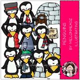 Penguins clip art - by Melonheadz
