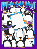 Penguin clip art pack for penguin or winter themed activities