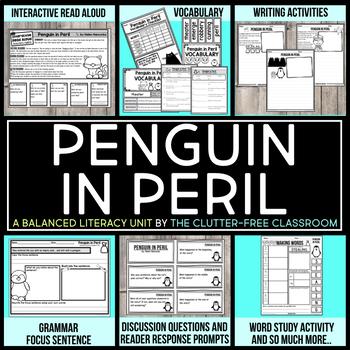 Penguin in Peril by Helen Hancocks Book Companion Activities