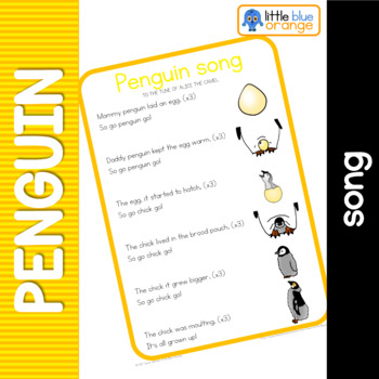 Penguin life cycle song