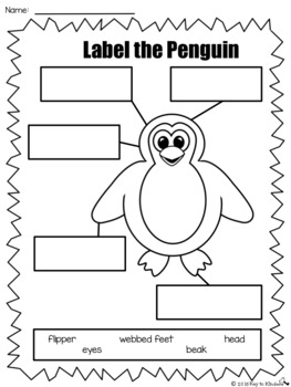 Penguin-palooza Math and Literacy Activities and Centers