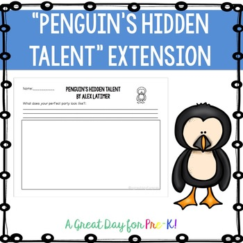 Penguin's Hidden Talent Extension Activity