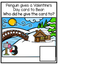 Penguin's Valentine's Day Adapted Books