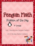 PenguinMath PowerPoint 1st Grade Units 1-2