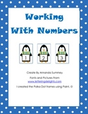 PenguinMath: Working With Numbers (Comparing, Ordering, Adding): Game & WSs